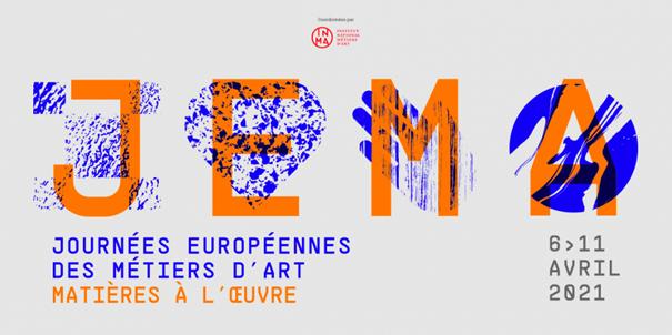 Journées européennes des métiers d'arts – 10 et 11 Avril 2021